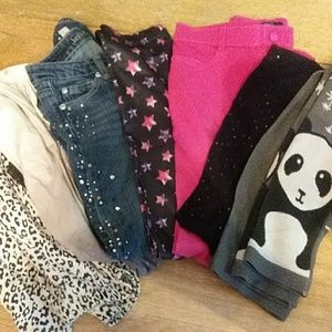 Girls size 12 pant lot
